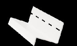 сливная планка белая